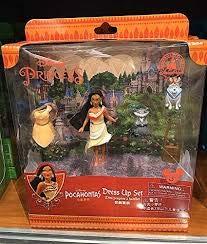 Disney Parks Pocahontas Dress Up Fashion Playset NEW