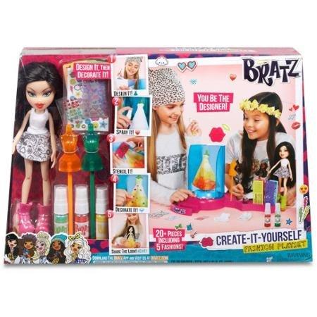 Fashion Dolls Bratz Create It Yourself Fashion Playset with Doll