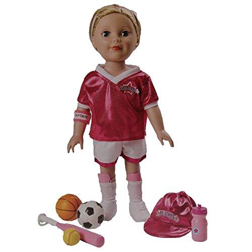 My Girl Be 18 Doll All Star Sport Fashion Playset