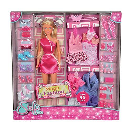 Simba 105736015Toys - Steffi Love Mega Fashion Playset Multicolor