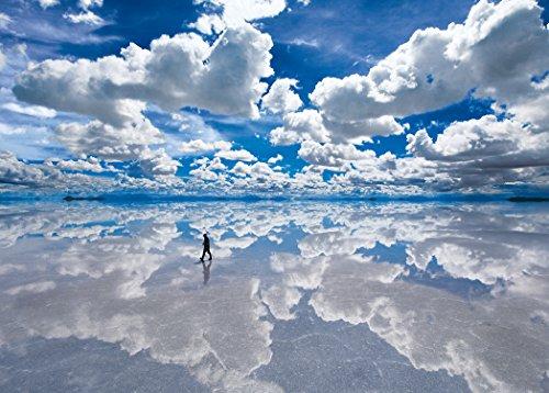3000 piece jigsaw puzzle the ultimate guru Salar de Uyuni Salt Lake â€Esmall pieces of Bolivia 73 x 102 cm