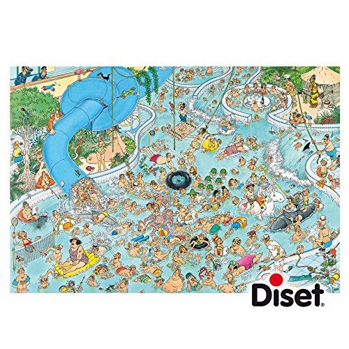 Jan Van Haasteren Whacky Water World Jigsaw Puzzle 3000 Pieces
