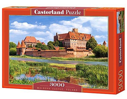 Malbork Castle Poland 3000 Piece Jigsaw Puzzle By Castorland Puzzles