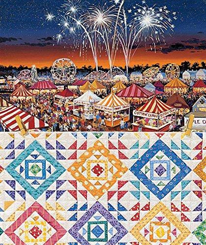 County Fair a 550-Piece Jigsaw Puzzle by Sunsout Inc