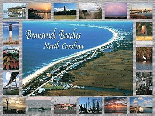 Heritage Puzzle - Peter Doran - Brunswick Beaches North Carolina - Jigsaw Puzzle - 550 Pc