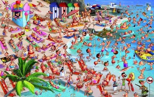 Piatnik Beach 1000 Piece Francois Ruyer Jigsaw Puzzle