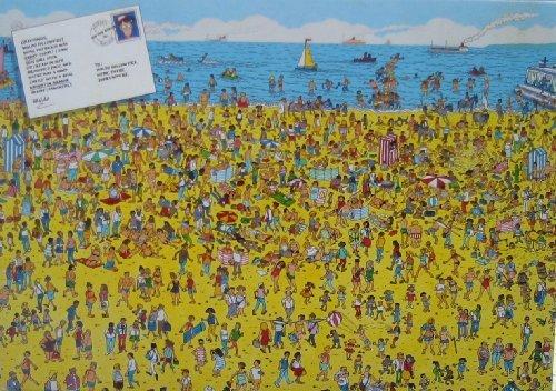 Wheres Waldo On The Beach Jigsaw Puzzle