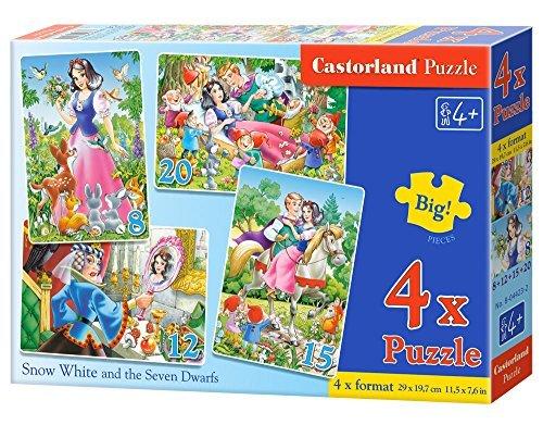 Castorland B04423 Premium Snow White Jigsaw Puzzle by Castorland