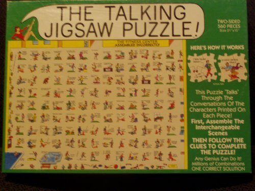 The Talking Jigsaw Puzzle - The Fitness Center by Buffalo Games