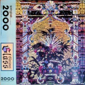 Glorious Glass 2000 Piece Interlocking Jigsaw Puzzle