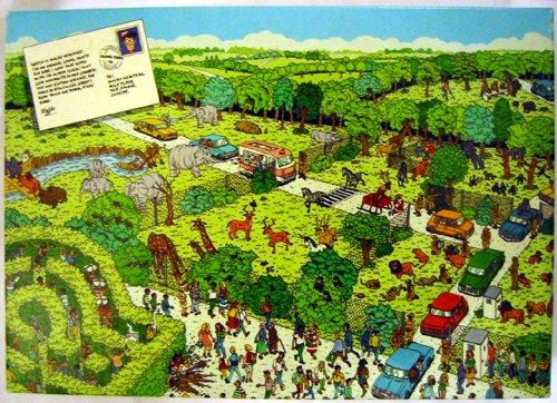 Wheres Waldo Safari Park ~ 100 Piece Interlocking Jigsaw Puzzle