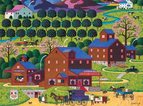 Buffalo Games Charles Wysocki Plum Valley - 1000pc  Jigsaw Puzzle