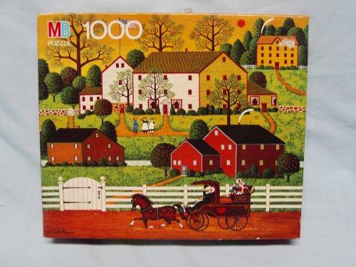 Charles Wysocki 1000 Piece Jigsaw Puzzle Titled Hi Neighbor
