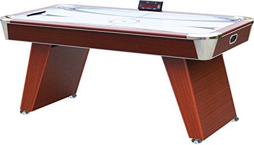 Playcraft Derby Air Hockey Table 6-Feet Cherry Wood Grain