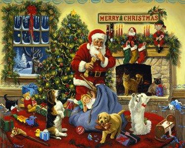 Santas Beggars Christmas Jigsaw Puzzle 1000 Piece