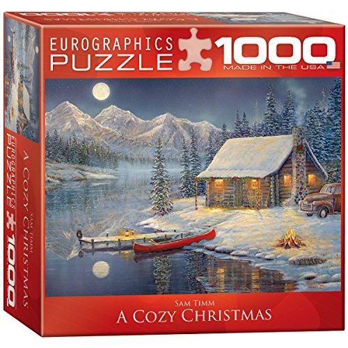 EuroGraphics A Cozy Christmas Puzzle 1000-Piece