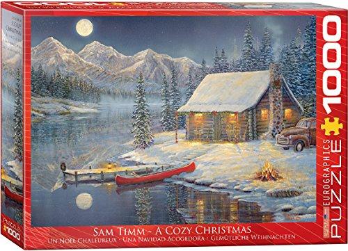 EuroGraphics Cozy Christmas Puzzle 1000 Piece