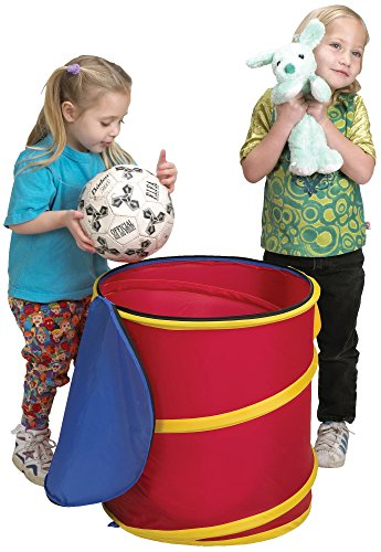 Large and Cute Durable Tote Storage Bin Container and Organizer for Kids Pet Toys and Balls- Children Home Box Units Solutions