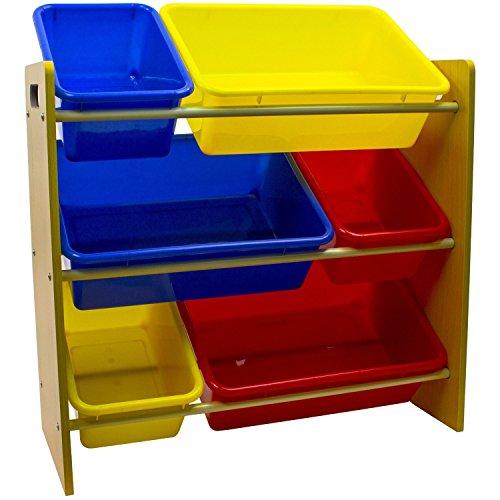 Space Saving Kids Toy Storage Organizer Toy Storage Bin