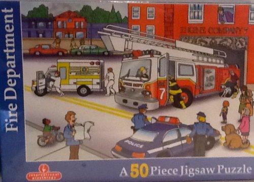 Fire Department 50 Piece Jigsaw Puzzle
