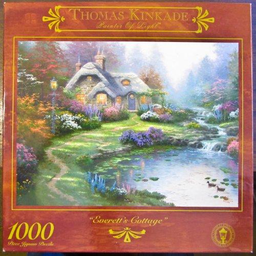 Thomas Kincade Painter of Light Everetts Cottage 1000pc Puzzle