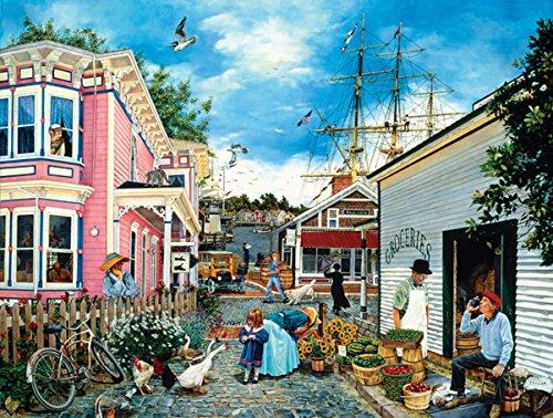 Seacove Village a 500-Piece Jigsaw Puzzle by Sunsout Inc