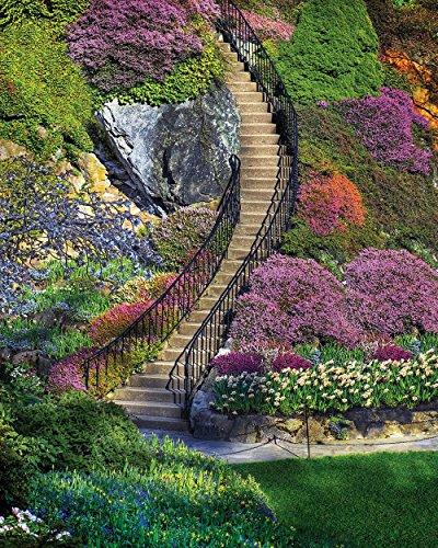 Springbok Garden Stairway Jigsaw Puzzle 500-Piece