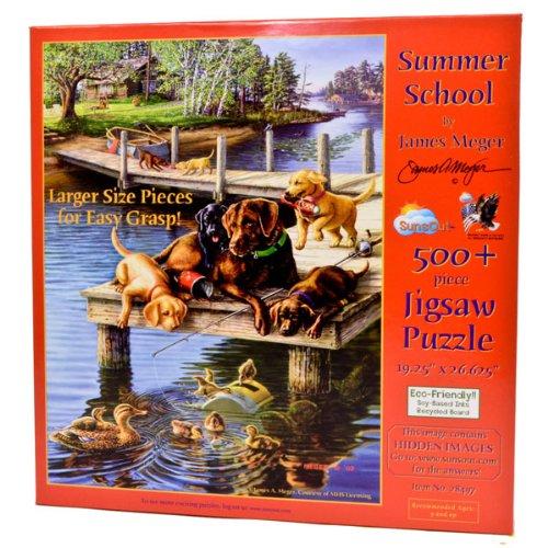 Summer School a 500-Piece Jigsaw Puzzle by Sunsout Inc