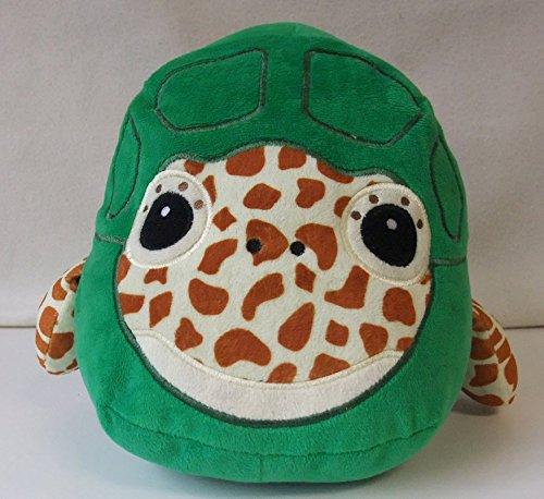 Turtle Kids Stuffed Animal Pillow Decorative Green Sea Turtle Plush