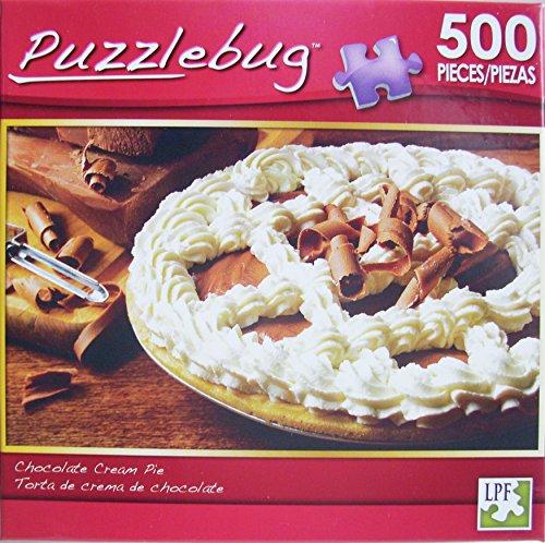 PuzzleBug 500 Piece Puzzle ~ Chocolate Cream Pie