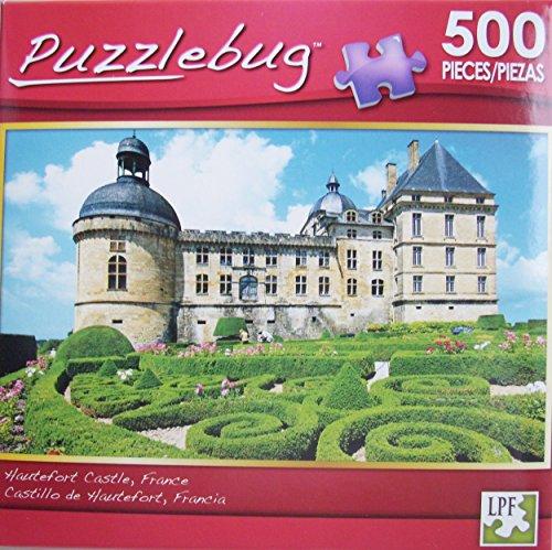 PuzzleBug 500 Piece Puzzle ~ Hautefort Castle France