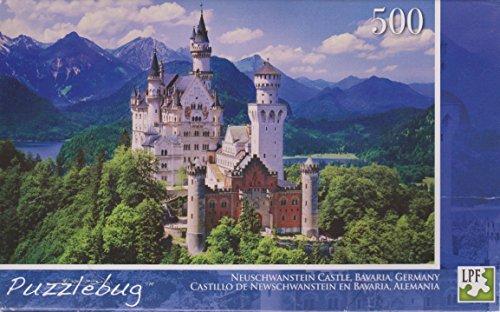 Puzzlebug 500 Piece Puzzle - Neuschwanstein Castle