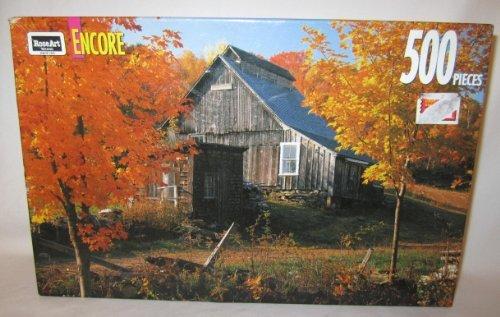1993 RoseArt Encore  Vermont Farm  Jigsaw Puzzle - 500 pieces