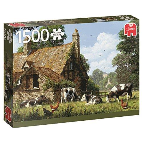 Jumbo Cows at a Farm Jigsaw Puzzle 1500 Piece
