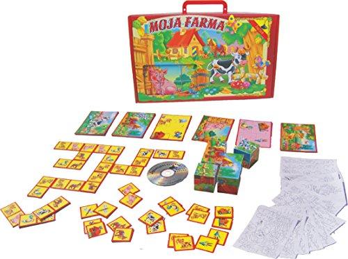 Tupiko MF 23 x 37 x 61 cm My Farm Jigsaw Puzzle Set with CD