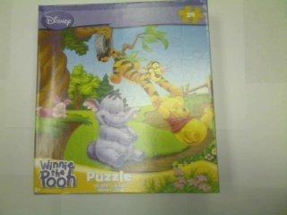 Disney Winnie the Pooh 24-Piece Jigsaw Puzzle On the Swing