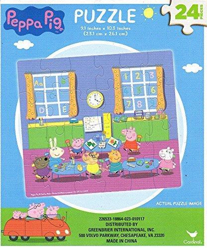 Peppa Pig - 24 Pieces Jigsaw Puzzle - v4