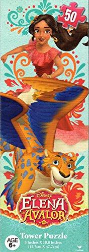 Cardinal Disney Elena of Avalor - 50 Piece Tower Jigsaw Puzzle - v4