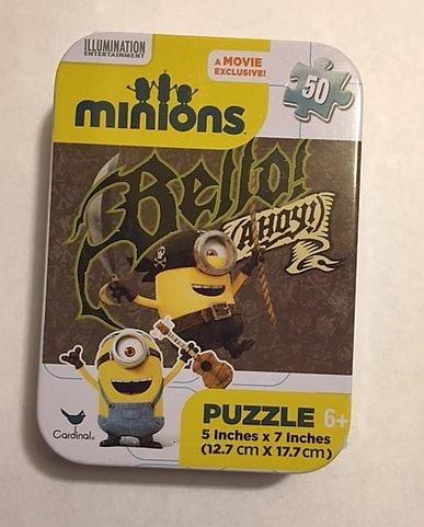 Illumination Minions 50 Piece Jigsaw Puzzle in Travel Tin