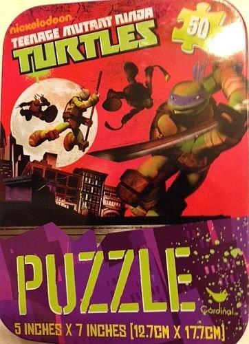 Nickelodeon Teenage Mutant Ninja Turtles 50 Piece Jigsaw Puzzle in Travel Tin