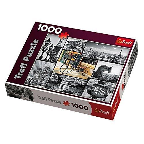 Trefl Paris Collage Jigsaw Puzzle 1000-Piece by Trefl