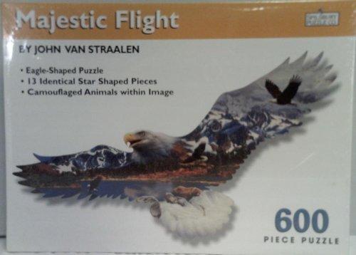 John Van Straalens Majestic Flight Eagle Jigsaw Puzzle 600 pieces