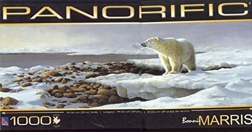 1000 Piece Panorific Bonnie Marris Polar Bear Jigsaw Puzzle