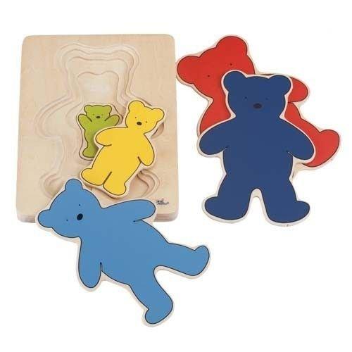 Goki Layers Bear Puzzle 5 Piece