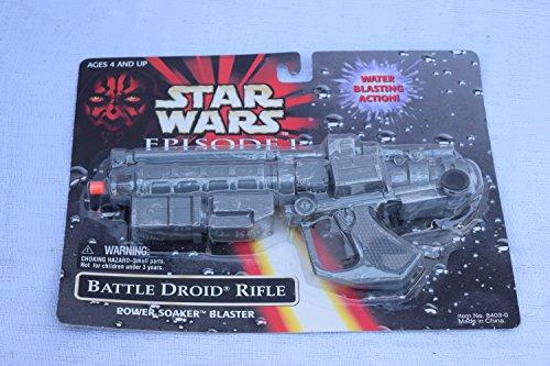 Star Wars Episode 1 Battle Droid Power Soaker Blaster