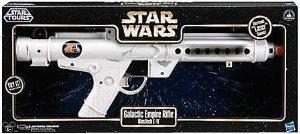 Star Wars  Star Wars  Galactic Empire Rifle Blaster Gun Blastech E-11 Star Tours Figure Toy doll  parallel imports