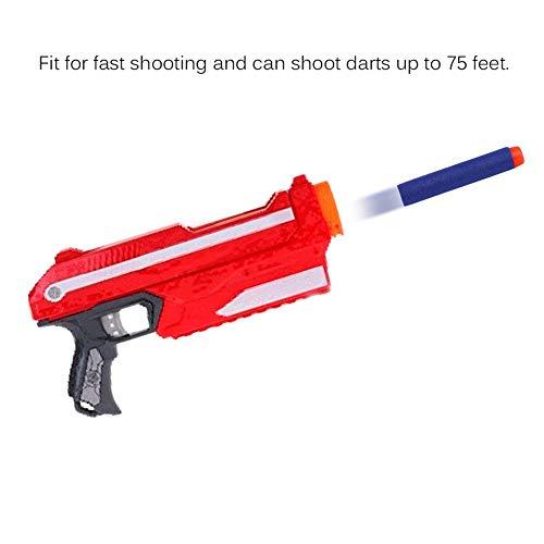 Lironheel 500200100 PCS Safe Foam Bullet EVA Soft Bullet Solid Bullet Darts N-Strike Elite Series Blasters for Toy Gun