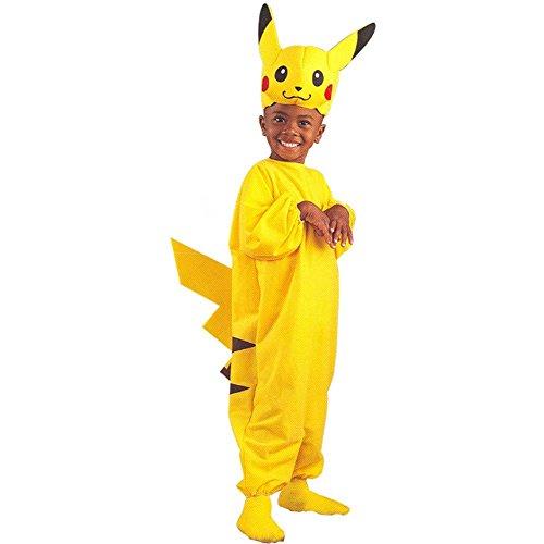 Kids Pikachu Pokemon Costume SizeMedium 4-6