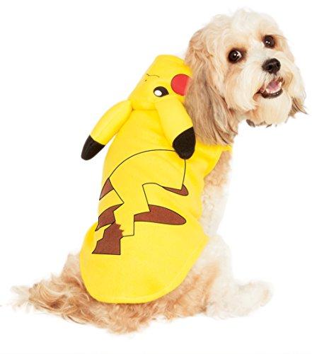 Rubies Costume Pikachu Pet Hoodie Medium