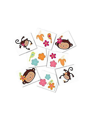 Monkey Love Tattoo Favors-
